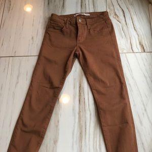 Joe's jeans soft light brown jeans